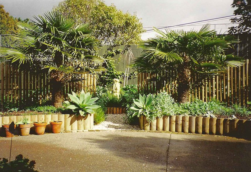 De mediterrane tuin aleid westenberg tuindesigns - Gespannen terras ...